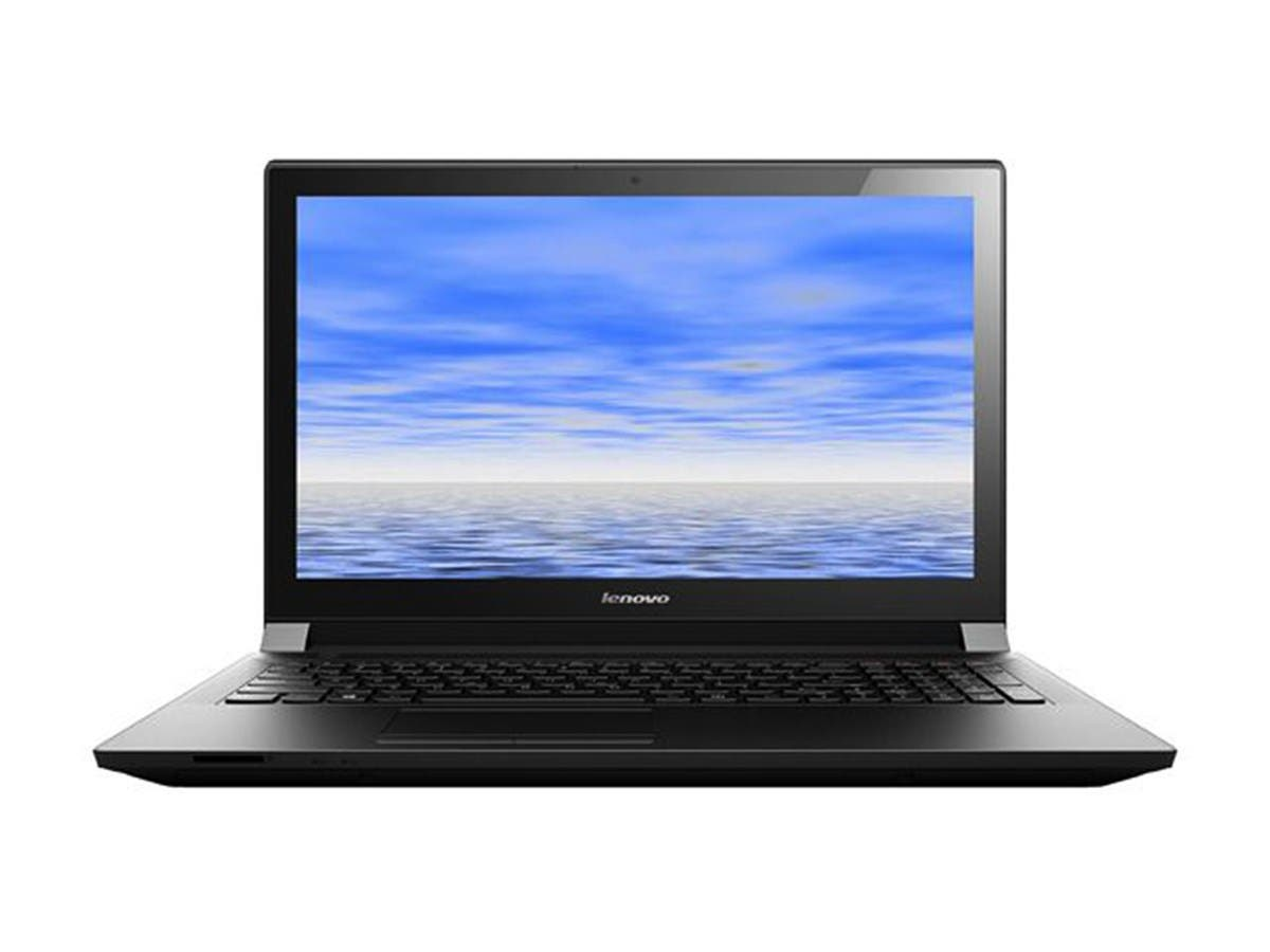 "Lenovo B50-80 15.6"" Notebook - Intel Core i5-5200U (2.20 GHz) 4 GB Memory 500 GB HDD Windows 10 Home- Black (Open Box)"
