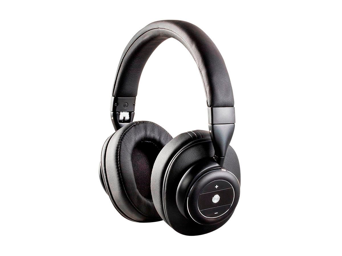 monoprice sonicsolace active noise cancelling bluetooth wireless headphones black over ear. Black Bedroom Furniture Sets. Home Design Ideas