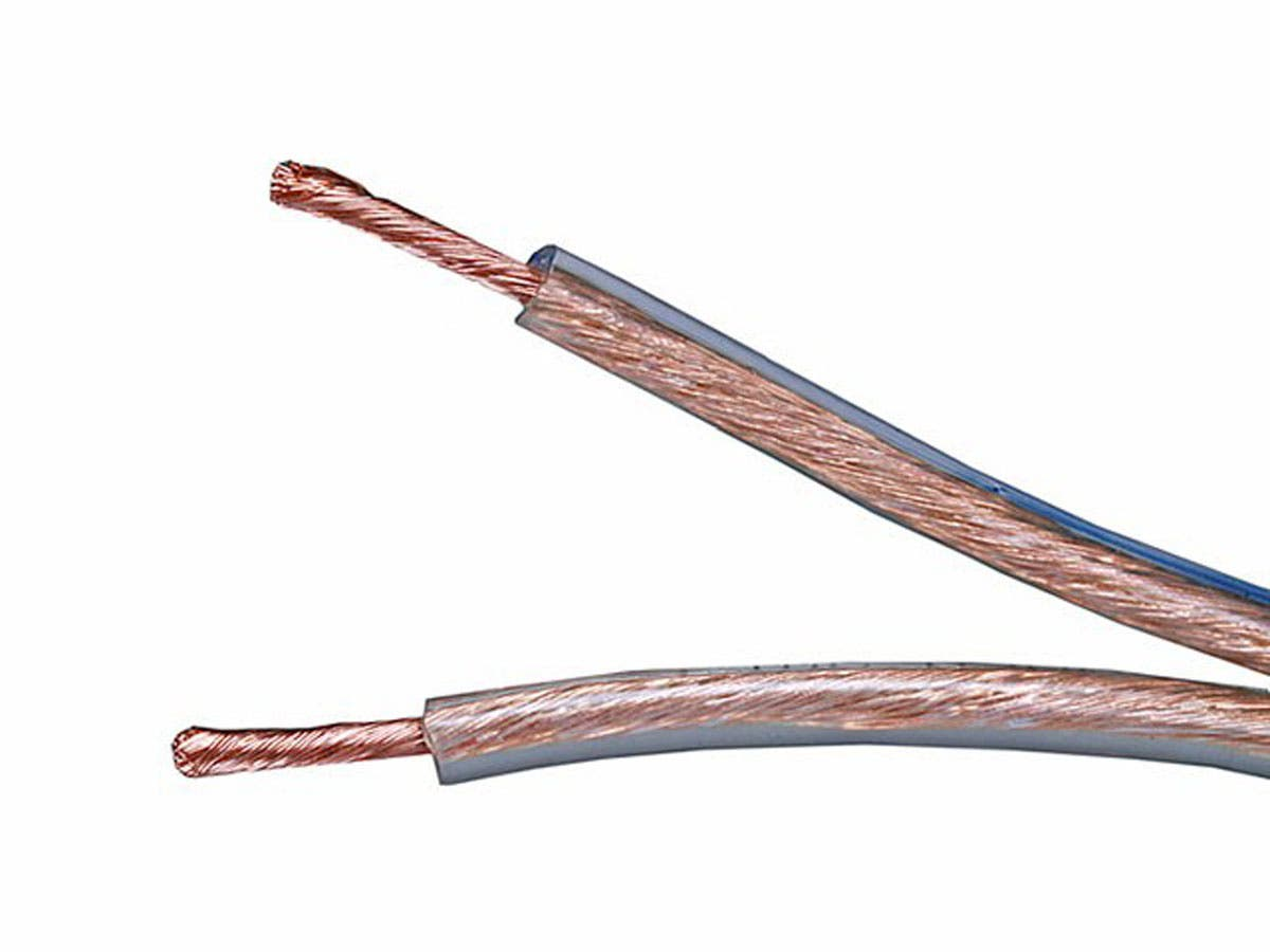 Choice Series 12AWG Oxygen-Free Pure Bare Copper Speaker Wire, 50ft