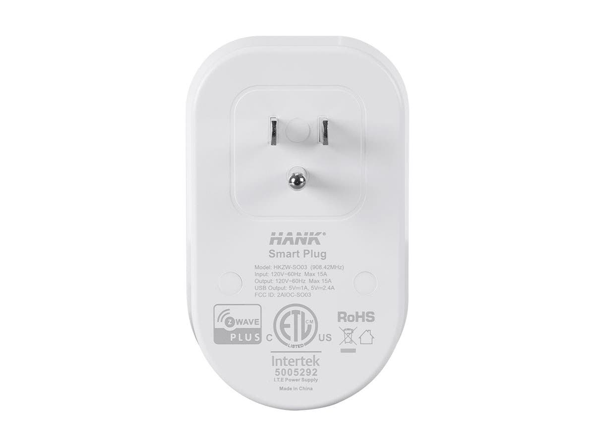 Monoprice Z Wave Plus Smart Plug And Repeater With 2 Usb Ports Jack Wiring Works