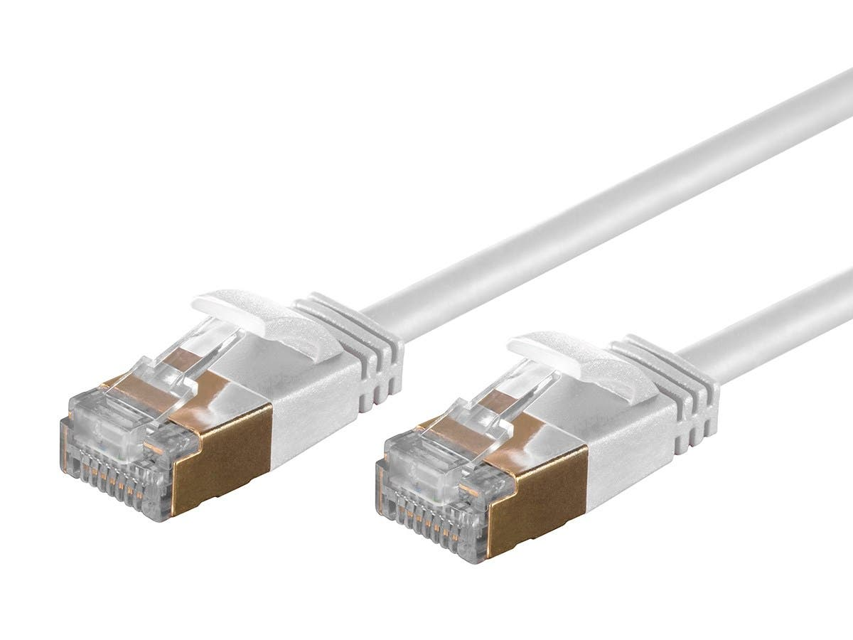 Monoprice SlimRun Cat6A Ethernet Patch Cable - Snagless RJ45 ...