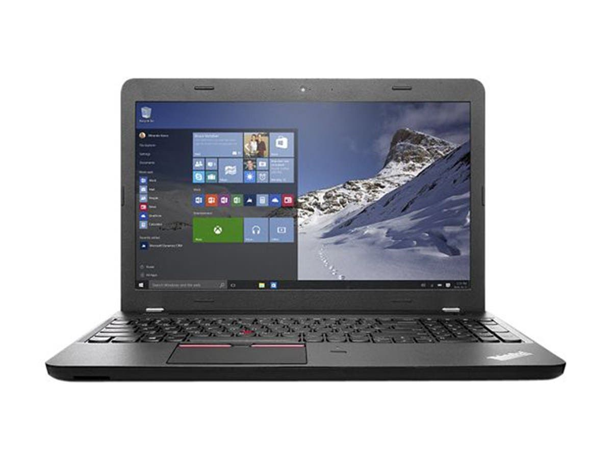 Lenovo ThinkPad E560 Laptop core i5-6200U 2.3GHz 500GB HDD 4GB MEM Win7Pro 15.6 (Open Box)