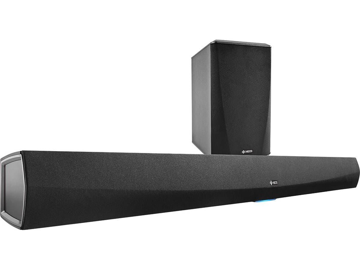 Denon HEOS 3.0-Channel Soundbar with Digital Amplifier - Black