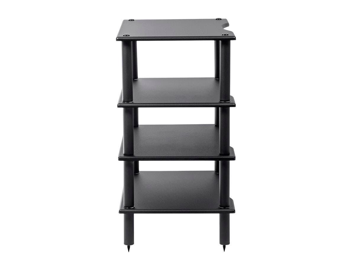 Monolith by Monoprice 4 Tier Audio Stand (Black) - Monoprice.com on tier lights, tier shelf, tier basket, tier deck,