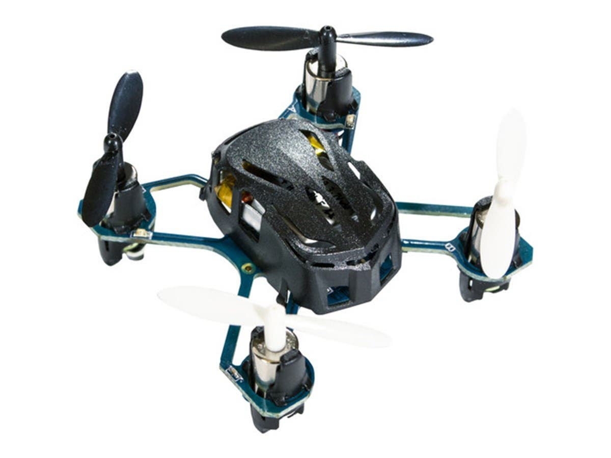 Hubsan Q4 H111 Nano Quadcopter Drone, Black (Open Box)