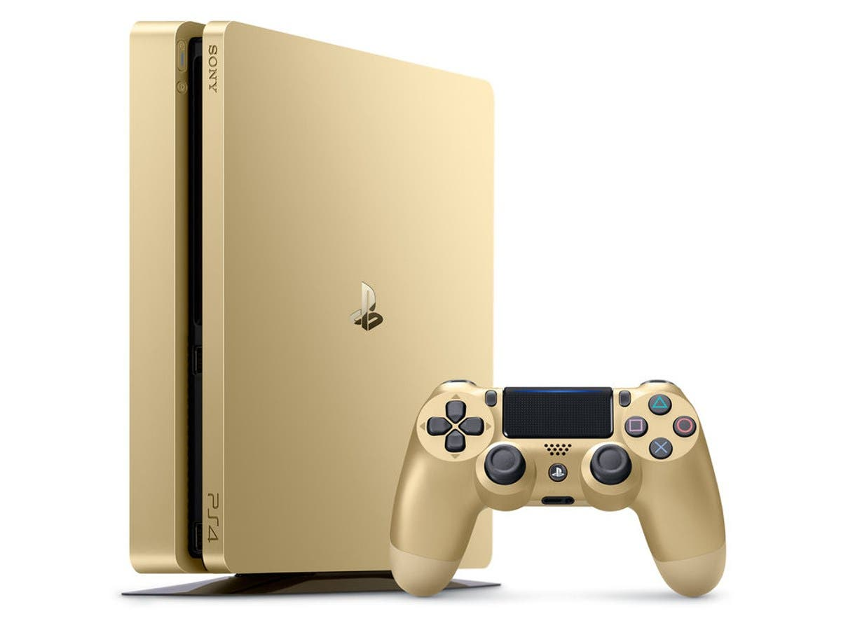 Sony Playstation 4 (PS4) Slim 1TB - Gold