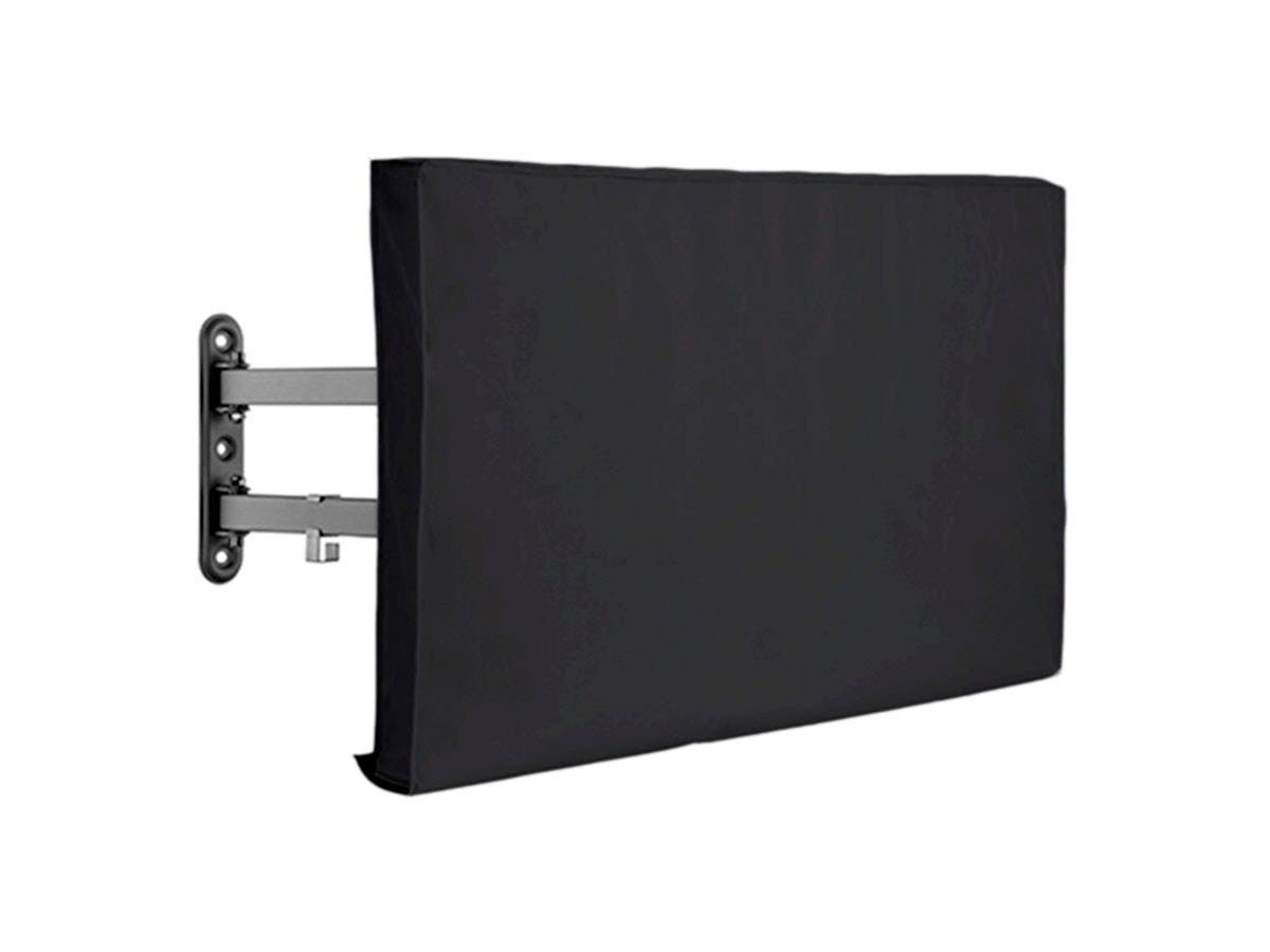 "Monoprice Outdoor TV Cover for 60-65"" Displays - Black-Large-Image-1"