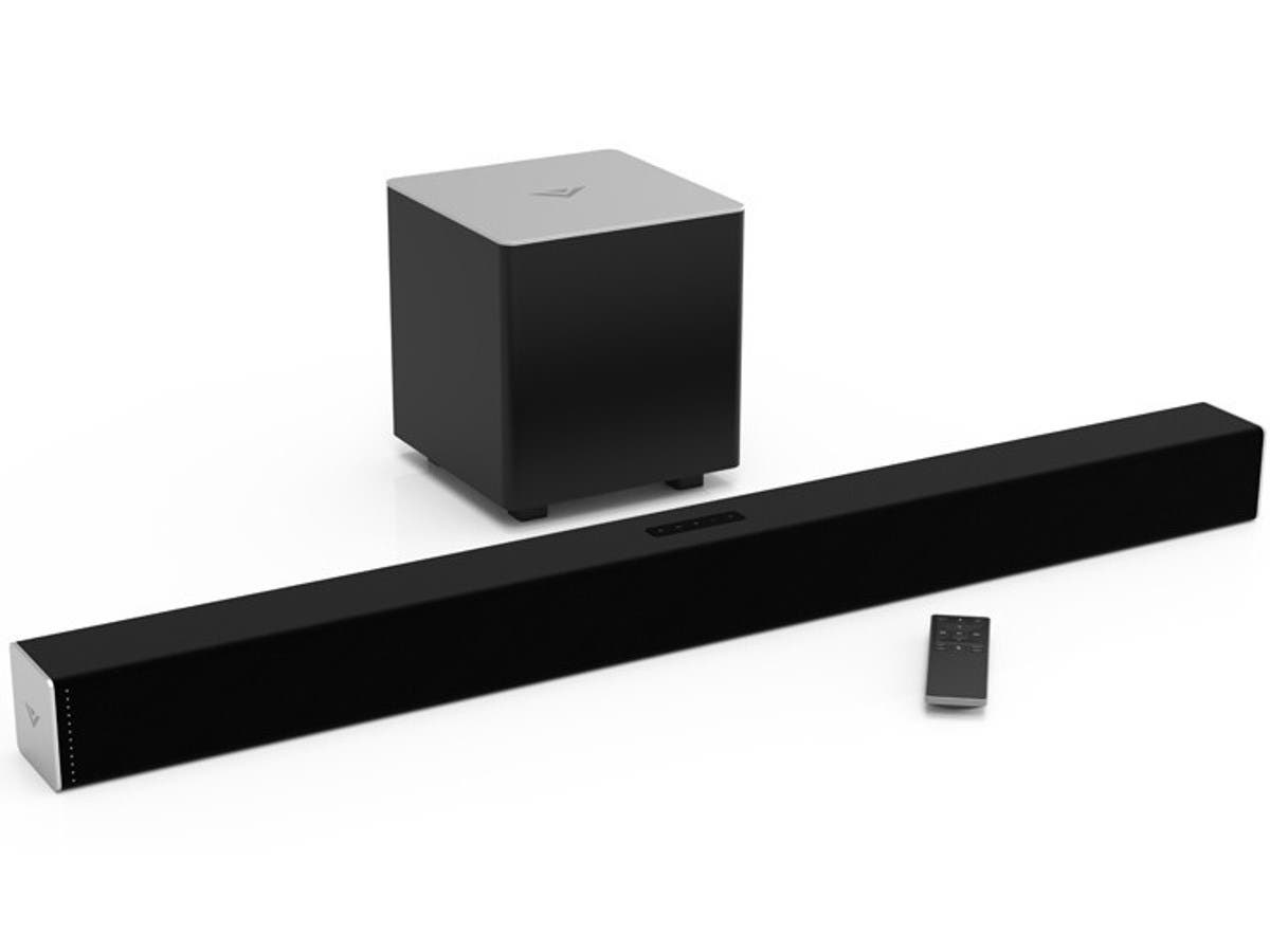 VIZIO SB3821-C6 38-Inch 2.1 Channel Sound Bar with Wireless Subwoofer (Recertified)