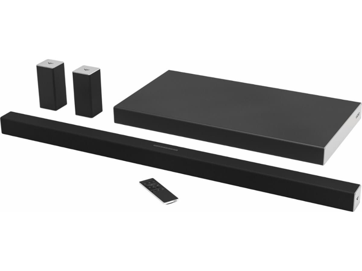 "VIZIO SmartCast™ SB4051-D5 5.1-Channel Soundbar System with 26.5"" Wireless Subwoofer (Recertified)-Large-Image-1"