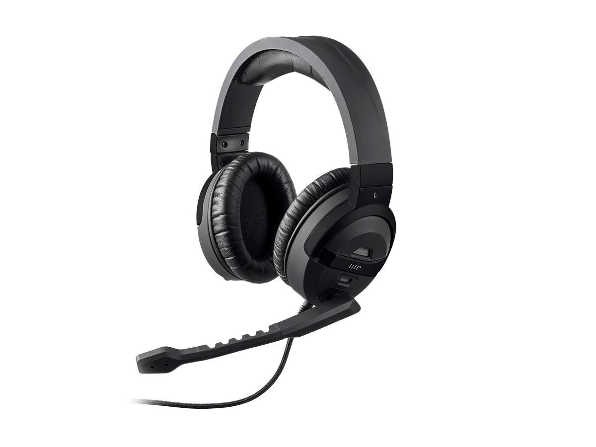 Monoprice Mp Pc Gaming Headphone With Anc And Multiple Dsp Modes