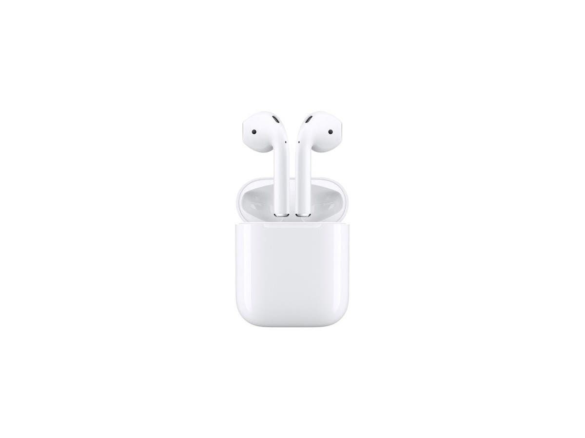 Apple Airpods Wireless Bluetooth Headset - White MMEF2AM/A-Large-Image-1