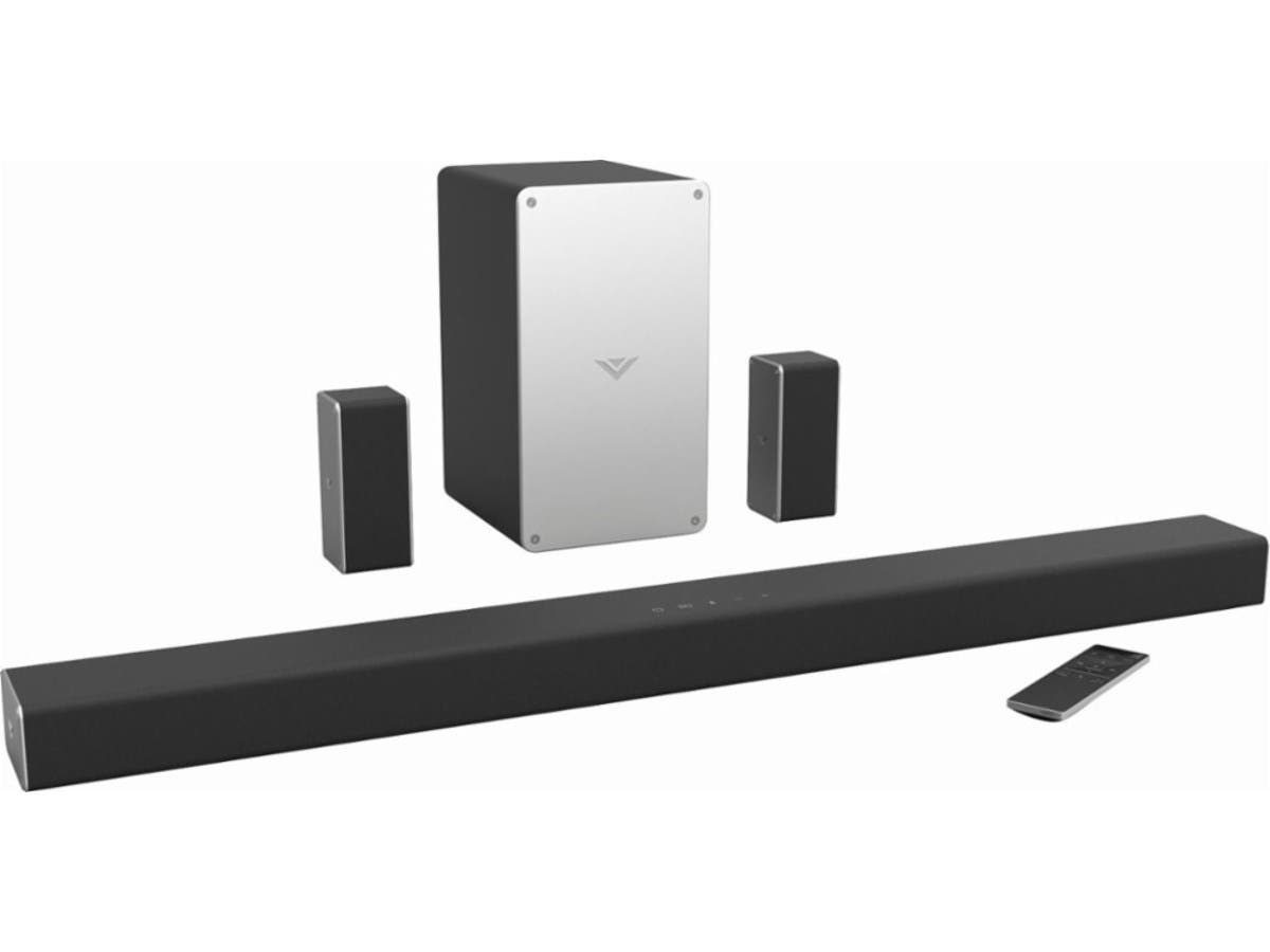 "VIZIO SmartCast SB3651-E6 5.1-Channel Soundbar System with 5"" Wireless Subwoofer and Digital Amplifier-Large-Image-1"