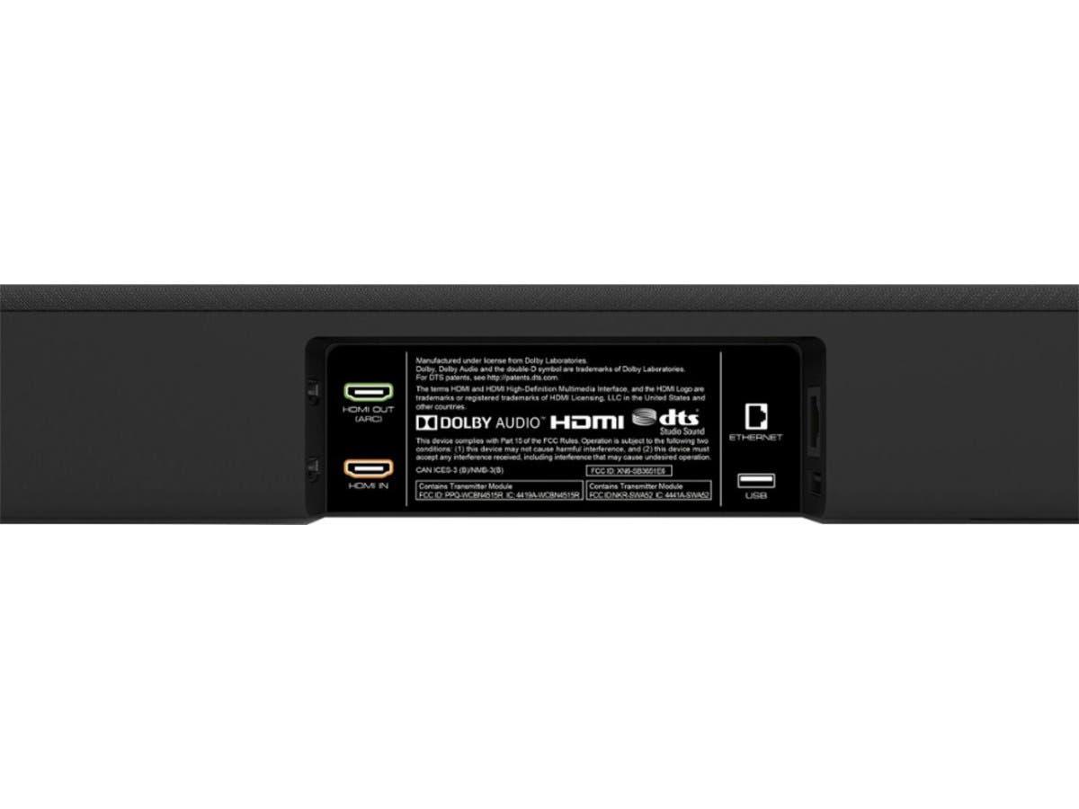 Vizio Smartcast Sb3651 E6 5 1 Channel Soundbar System With