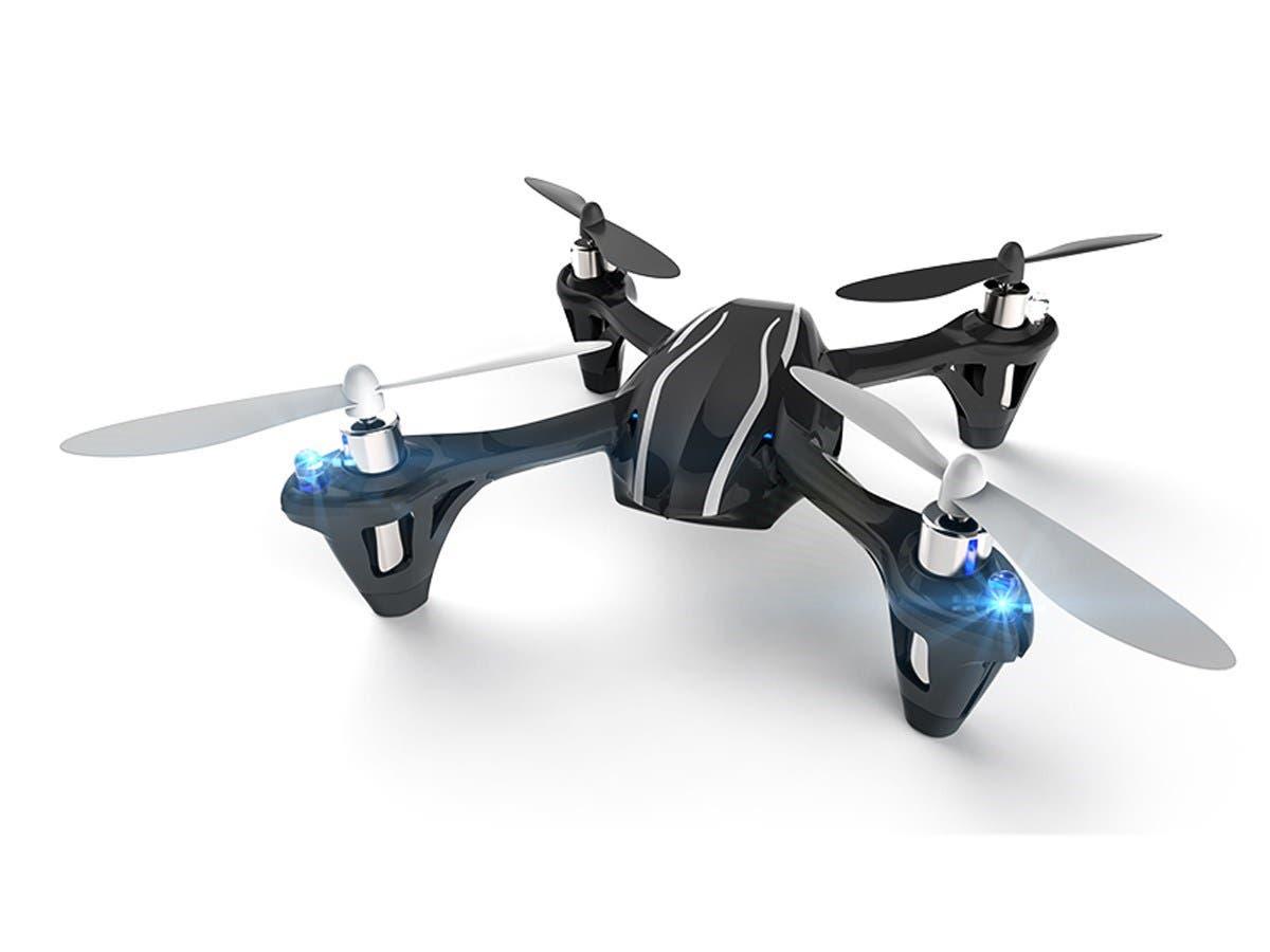 Hubsan H107L: X4 Mini Quadcopter Drone (Open Box)-Large-Image-1