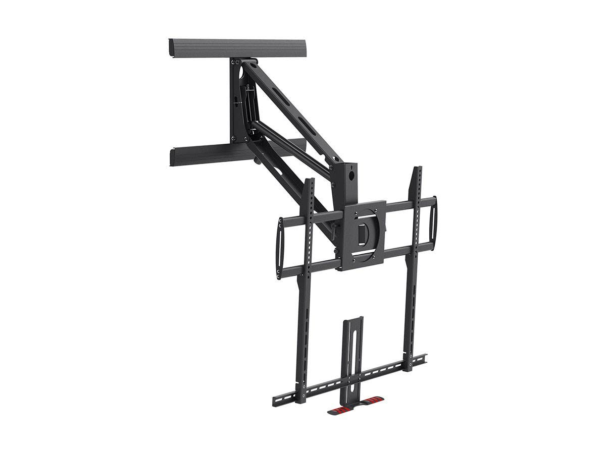 Above Fireplace PullDown FullMotion Articulating TV Wall Mount