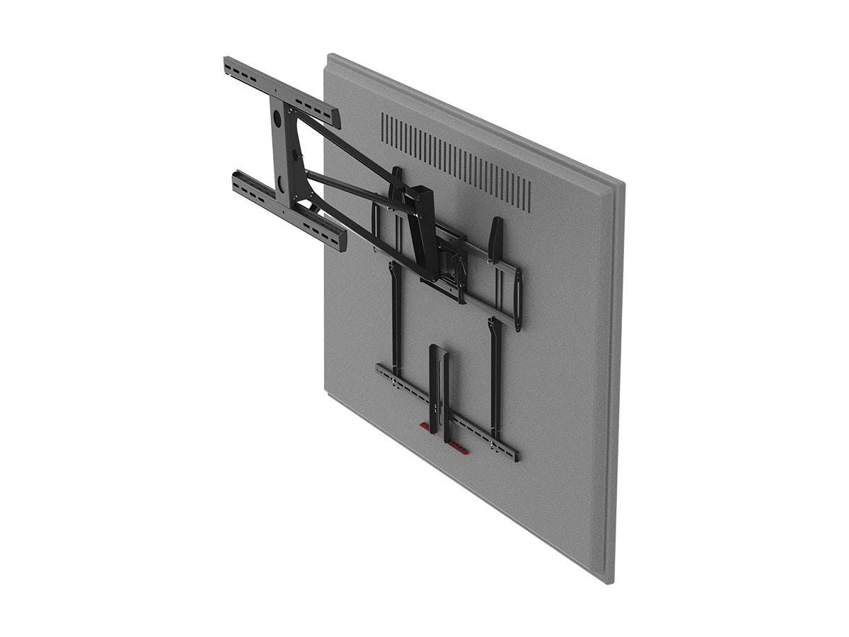 Extra Large Above Fireplace Pull Down Full Motion Tv Wall Mount Max 154lbs For 55 To 100