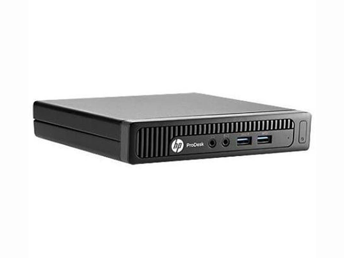 HP Business Desktop ProDesk 400 G1 Desktop Computer - Intel Core i3 i3-4170T 3.20 GHz - Desktop Mini - 4GB DDR3 SDRAM RAM - 500GB HDD - Windows 7 Professional 64-bit (Open Box)