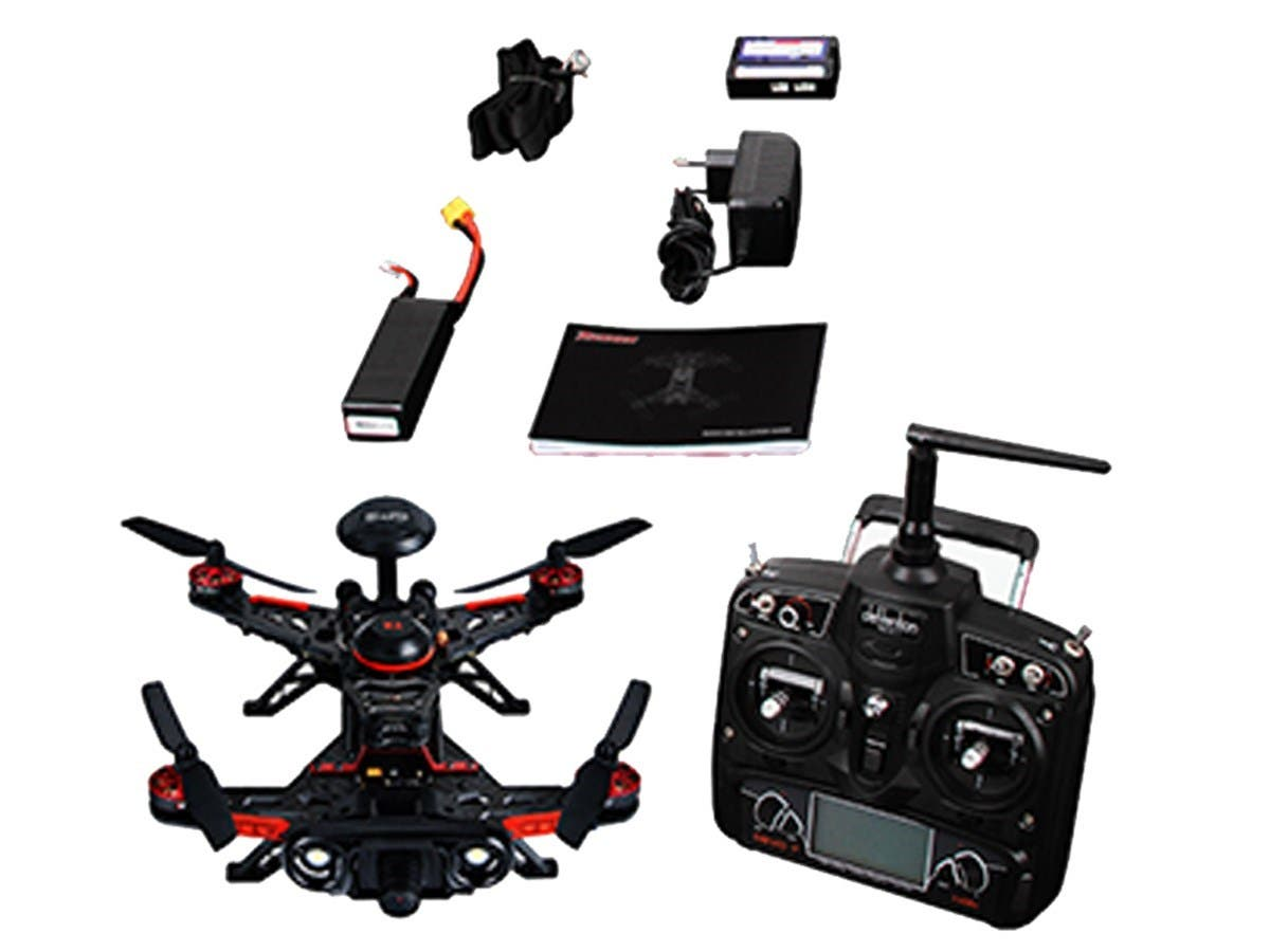 Walkera GPS 800TVL Advance Runner 250 Quadcopter Drone, FPV Ready to Fly Kit -(DEVO 7,100mW, mode 2,OSD, TX5816) (Open Box)-Large-Image-1