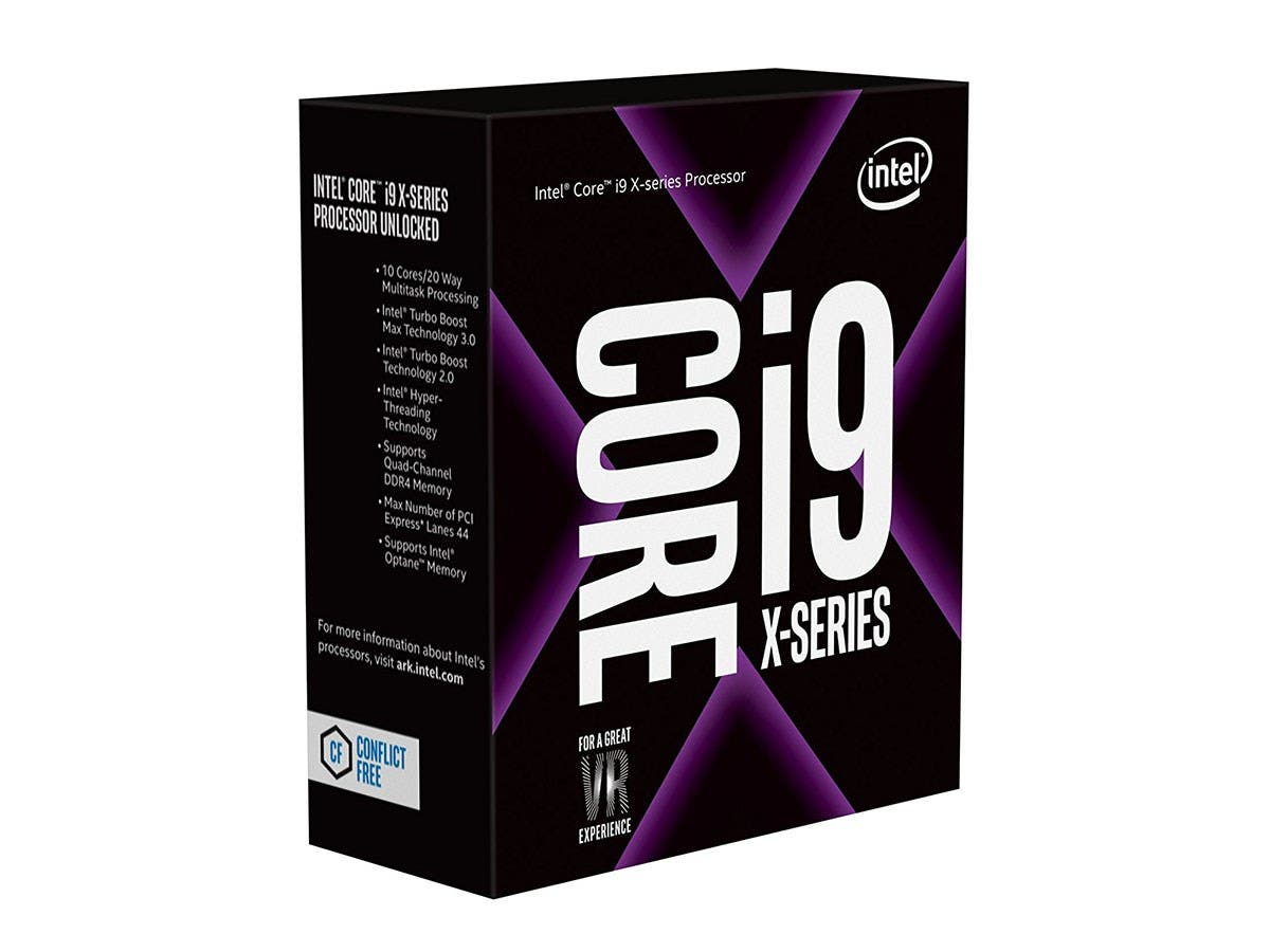Intel Core i9-7900X 10-Core 3.3 GHz LGA 2066 140W BX80673I97900X Desktop Processor - main image