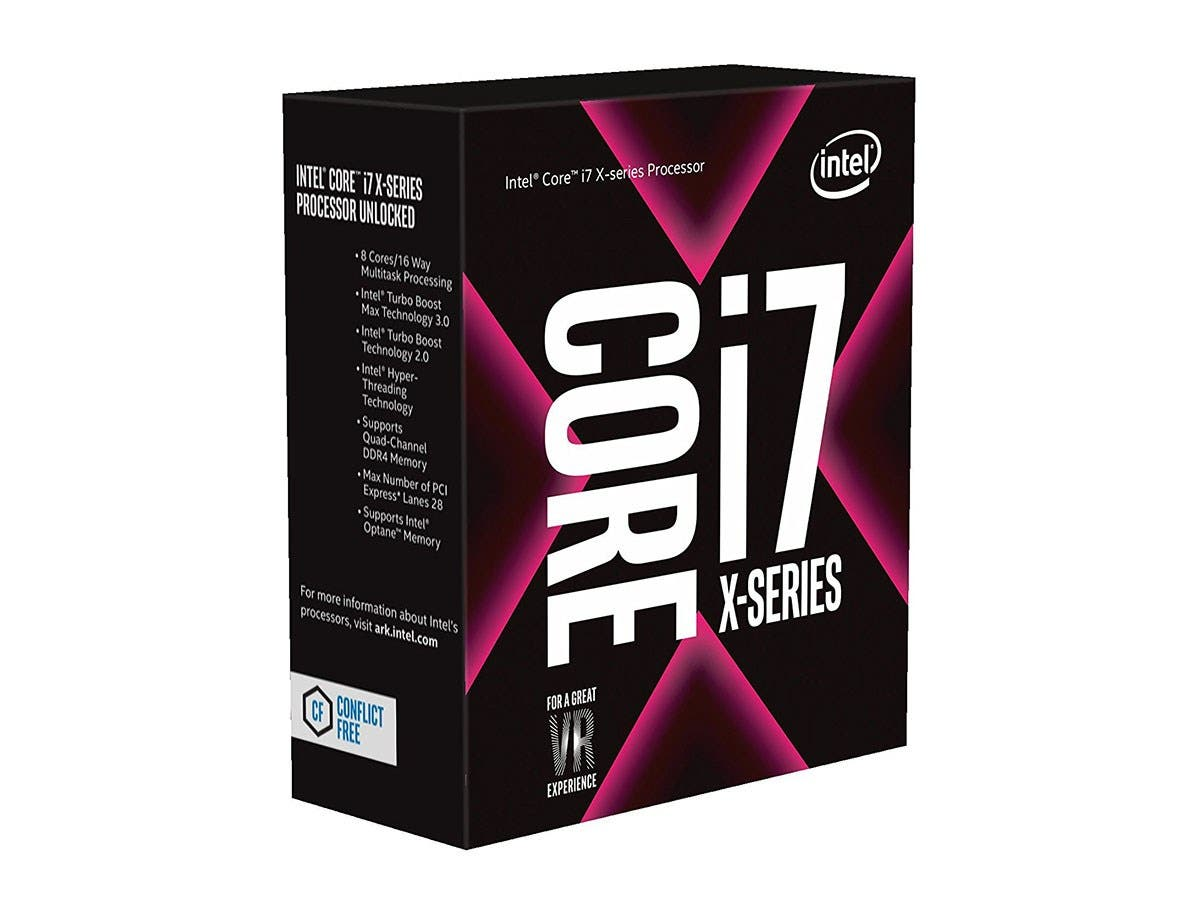 Intel CD8067303611000 Core I7-7820X Processor Extreme Edition (11M Cache, Up To 4.30 Ghz) Fc-Lga-Large-Image-1