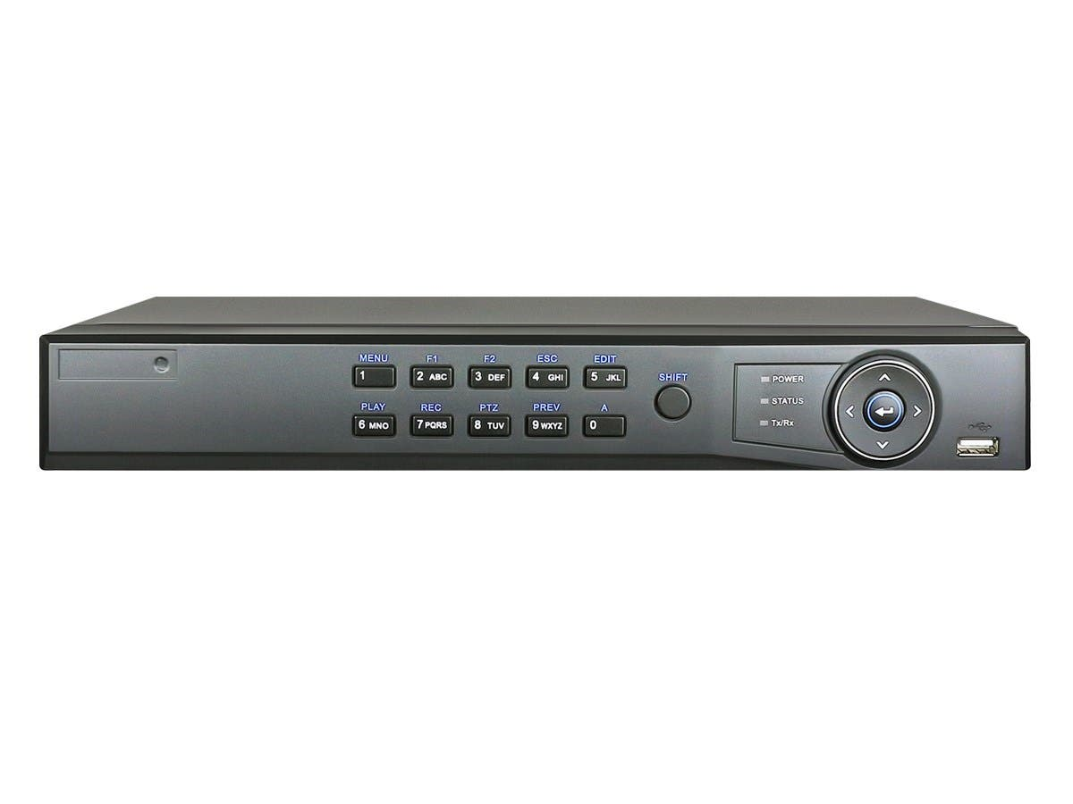 8CH H.264 1080P Realtime NextGen Analog DVR with 1TB HDD, 1080p recording at 15fps (Refurbished)