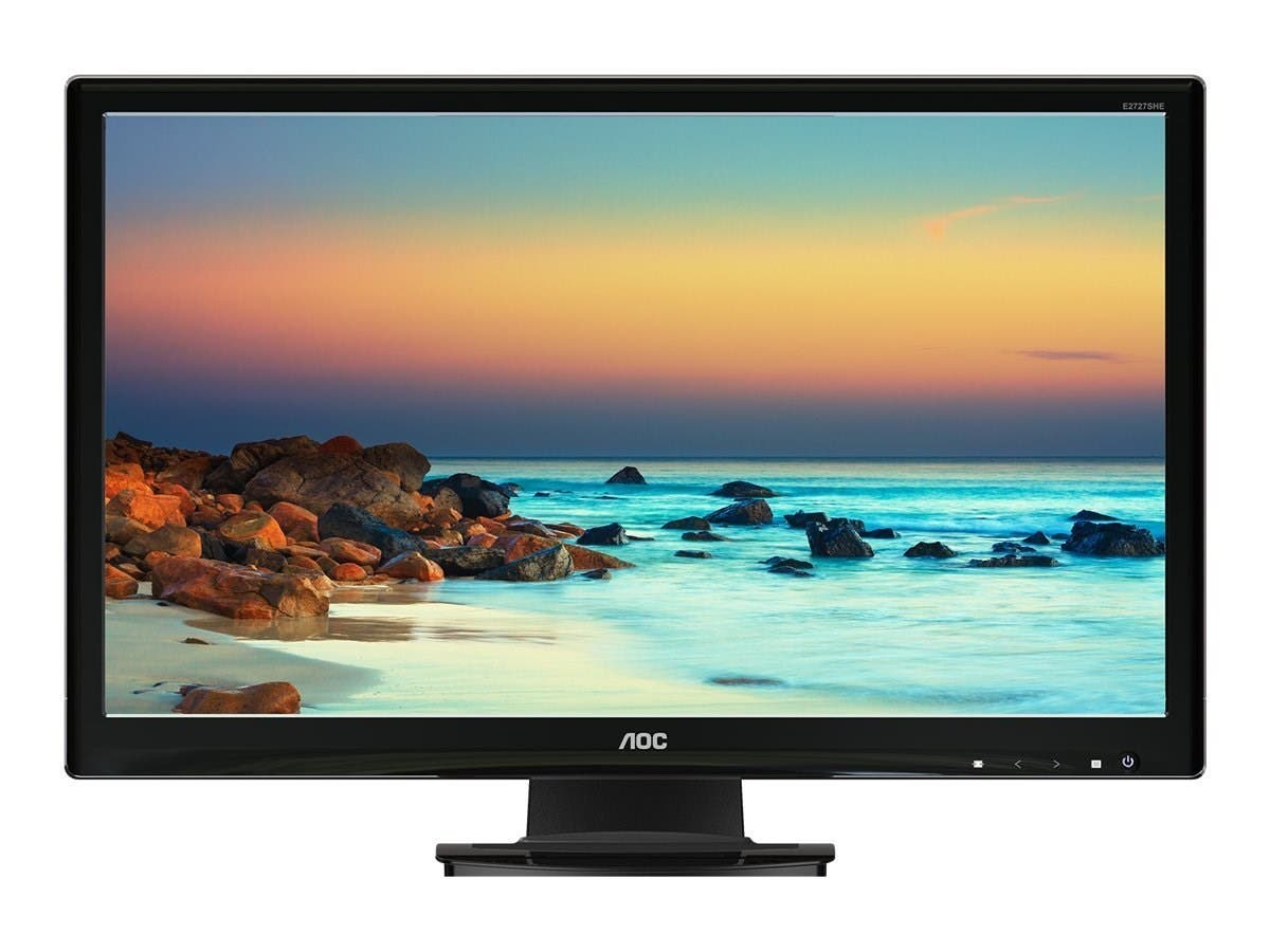 AOC E2727SHE 27-Inch Screen 1920 x 1080 LED-Lit Monitor (Refurbished)