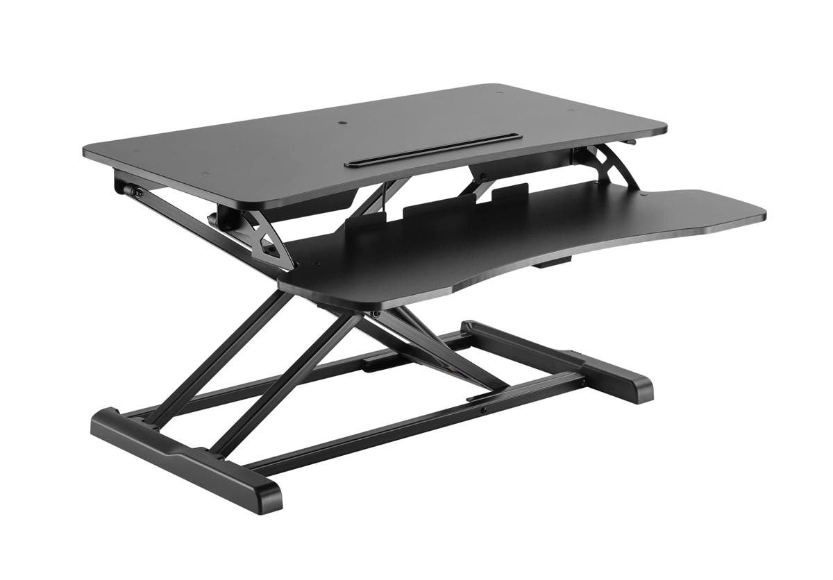Workstream by Monoprice Sit-Stand Compact Workstation Desk Converter,  31in-Large-Image