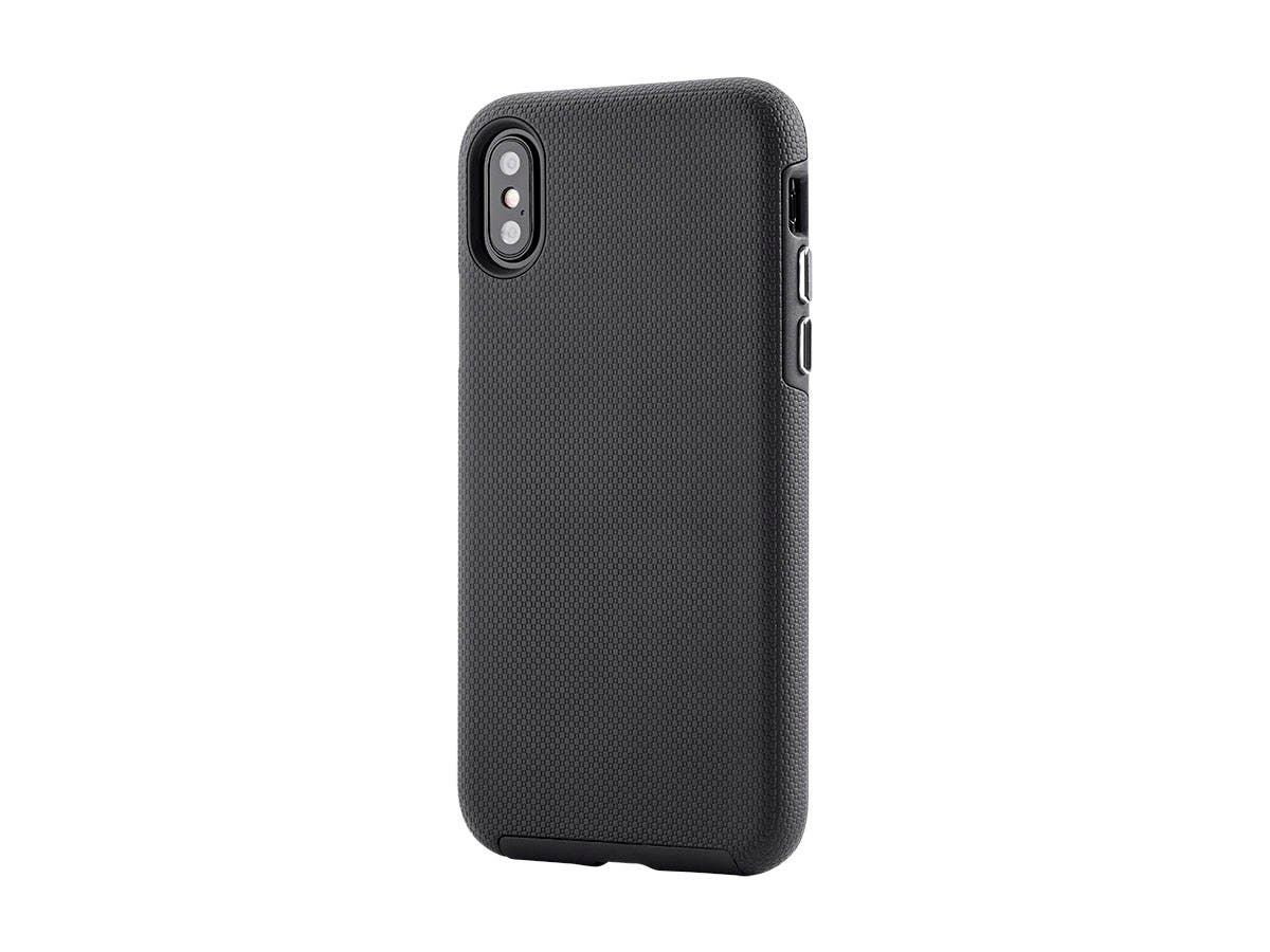Monoprice PC+TPU Protector Case for 5.8-inch iPhone X, Black-Large-Image-1