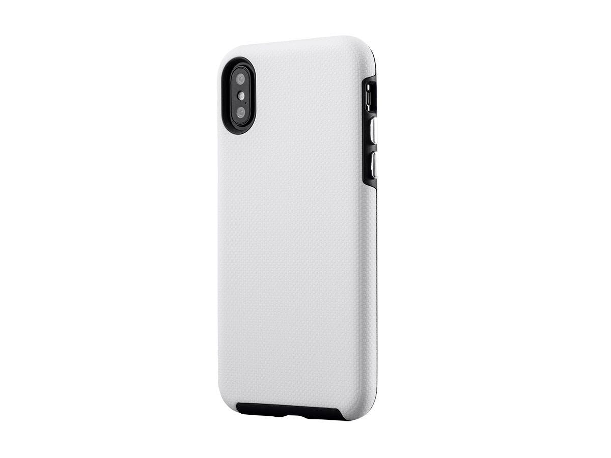 Monoprice PC+TPU Protector Case for 5.8-inch iPhone X, White-Large-Image-1