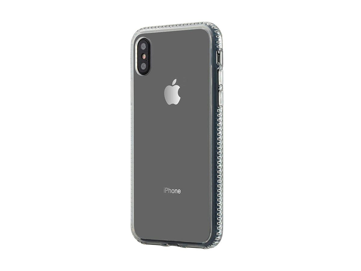Monoprice PC+TPU Protector Case for 5.8-inch iPhone X, Clear-Large-Image-1