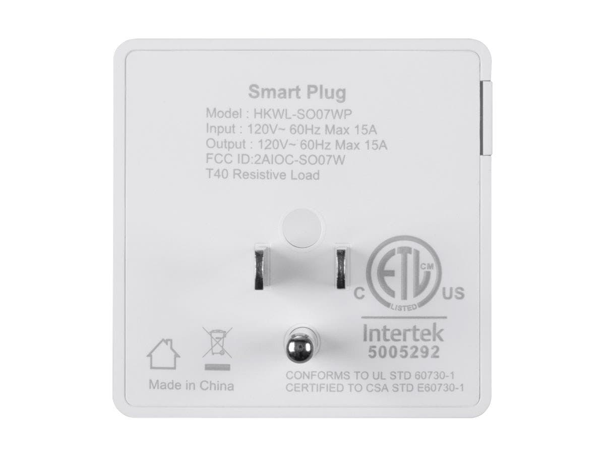 STITCH by Monoprice Wireless Smart Plug with Energy Monitoring