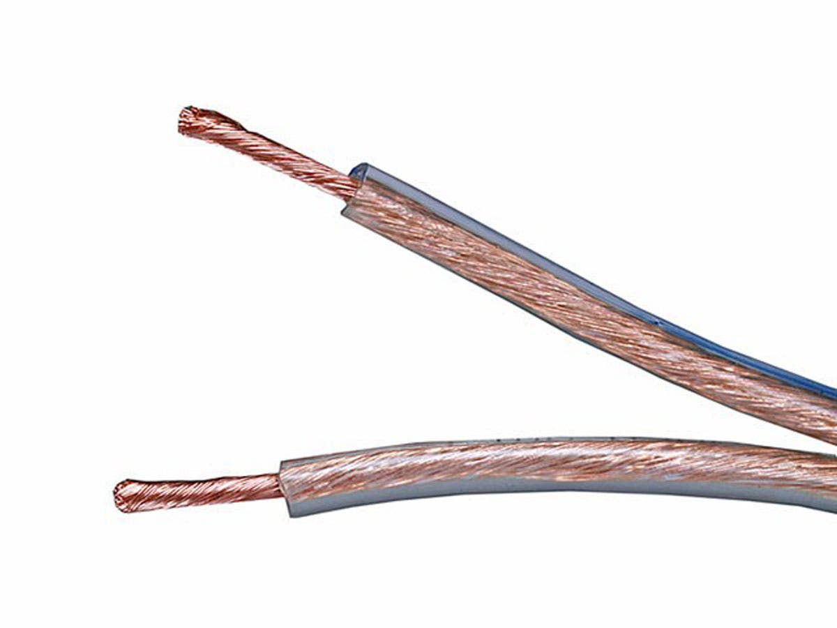 Choice Series 18AWG Oxygen-Free Pure Bare Copper Speaker Wire, 100ft