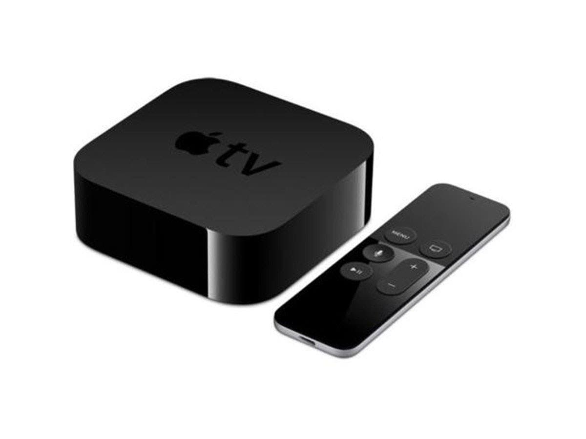Apple TV 64GB, 4th Gen 4LNC2LL/A Multimedia Streamer w/ Siri Control Refurbished