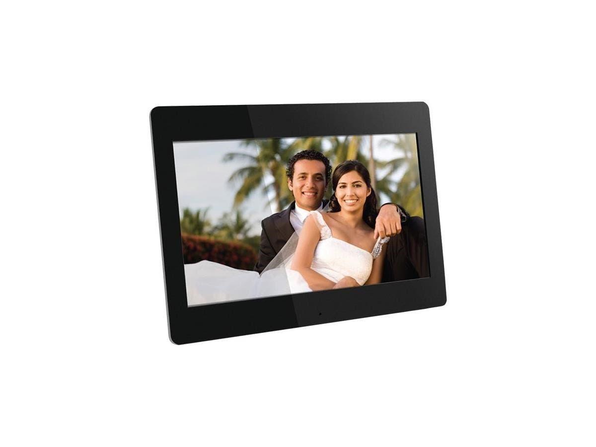 "Aluratek Digital Frame - 14"" LCD Digital Frame - Black - 1366 x ..."