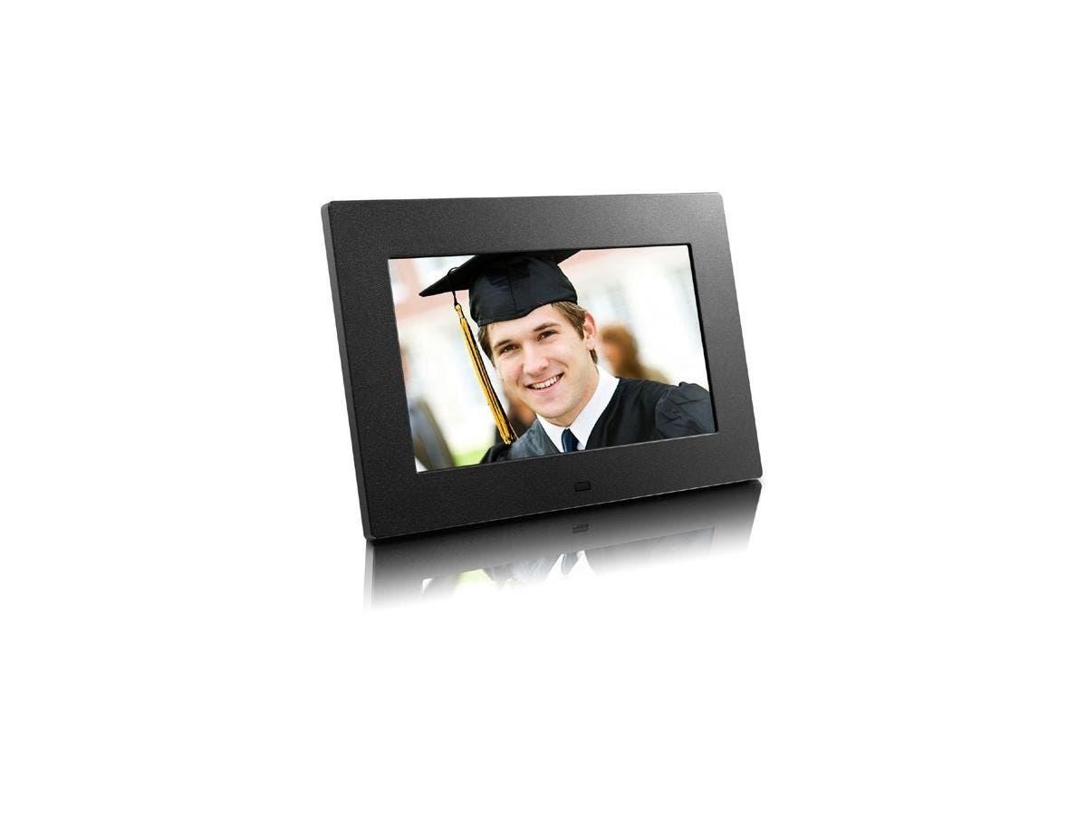 "Aluratek ADPF07SF Digital Photo Frame - Photo Viewer - 7"" TFT LCD - main image"