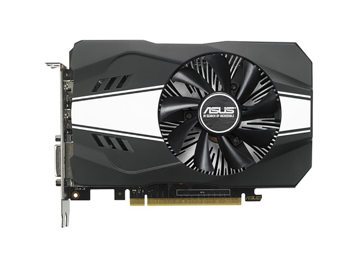ASUS GeForce GTX 1060 3GB Phoenix Fan Edition VR Ready HDMI DP DVI Graphics Card (PH-GTX1060-3G)-Large-Image-1