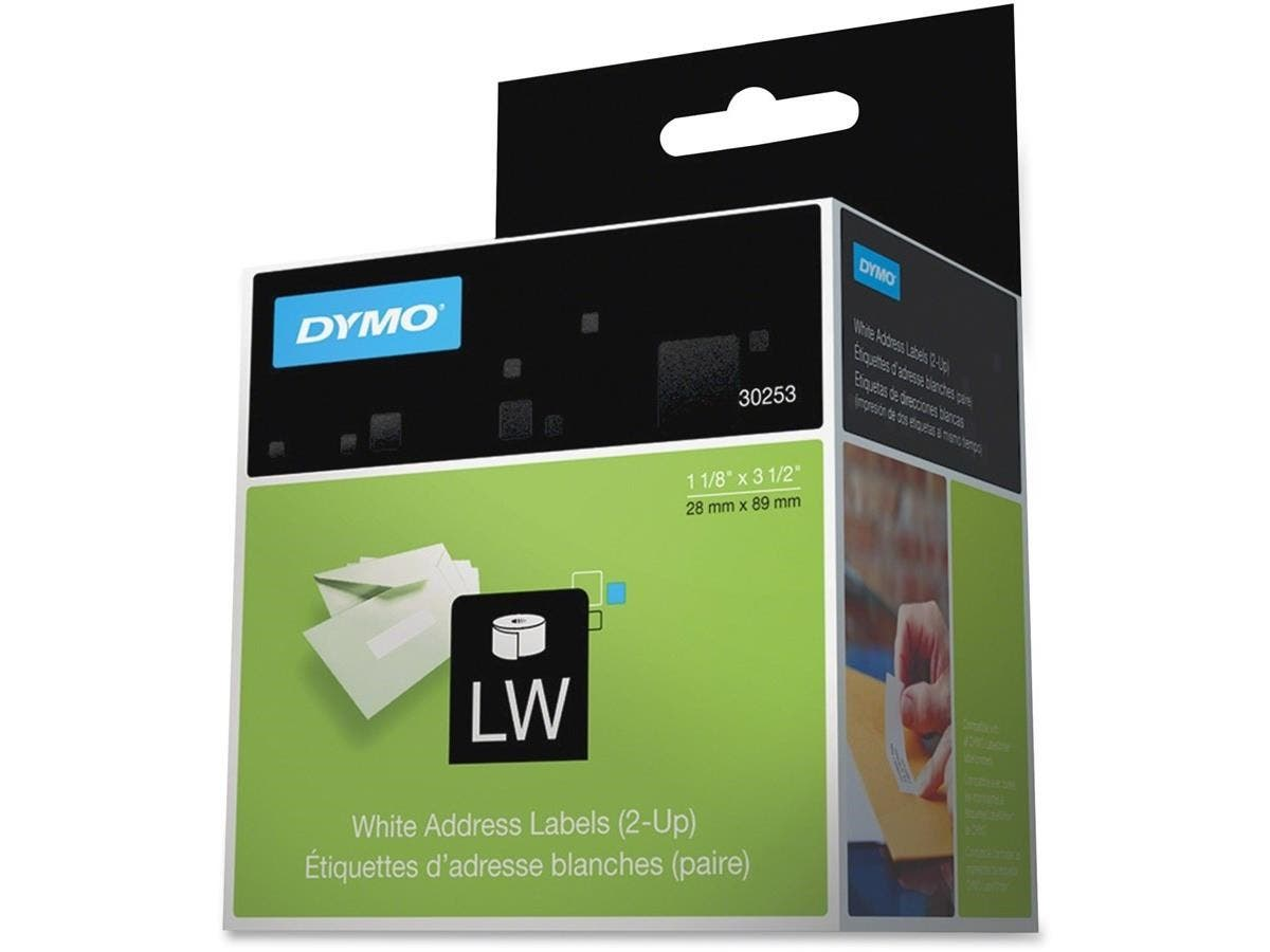 dymo address labels 1 12 34 x 3 5 34 1 x roll 700 x label