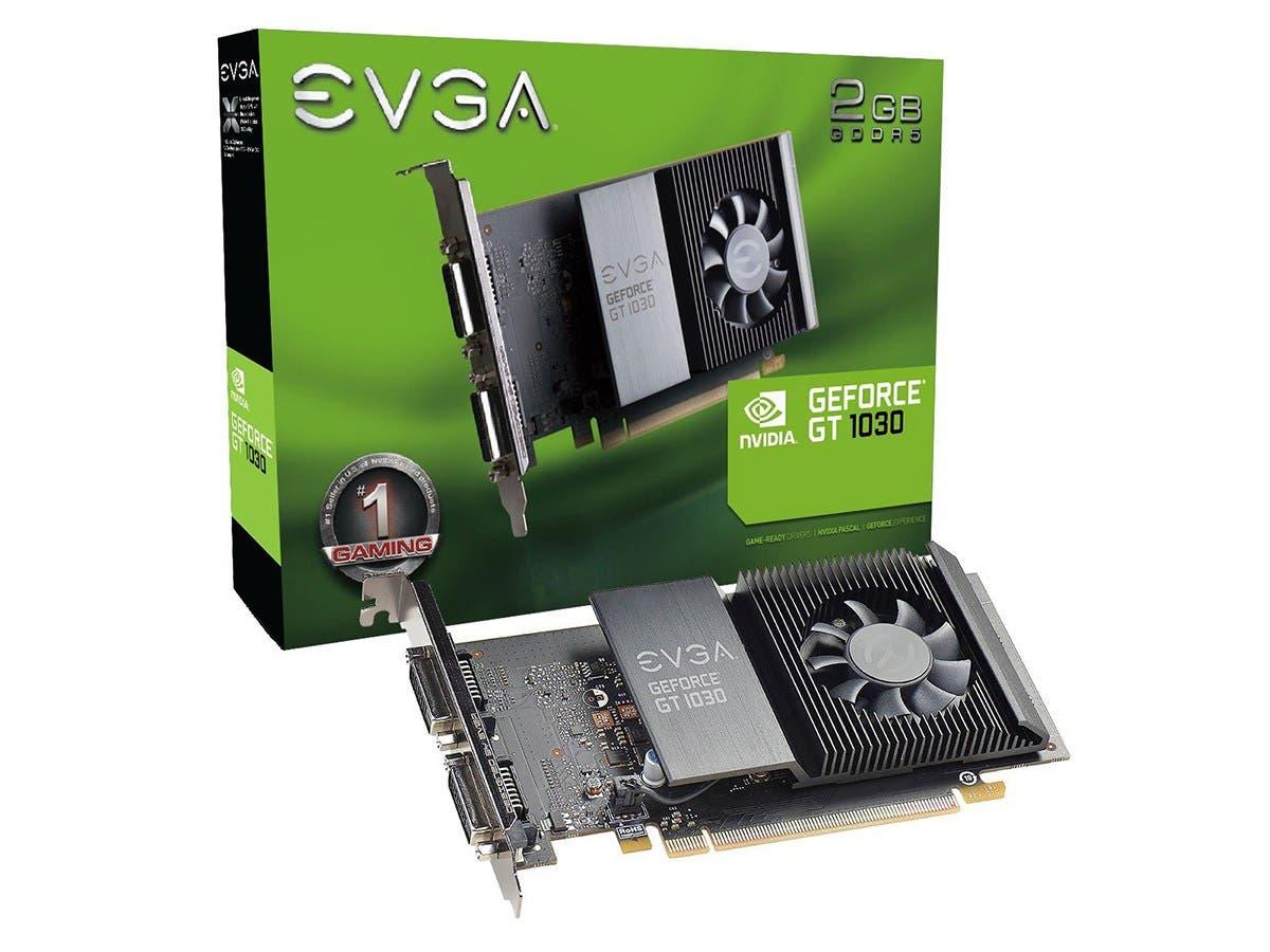 EVGA GeForce GT 1030 SC 2GB GDDR5 Single Slot Graphics Card 02G-P4-6338-KR -Large-Image-1