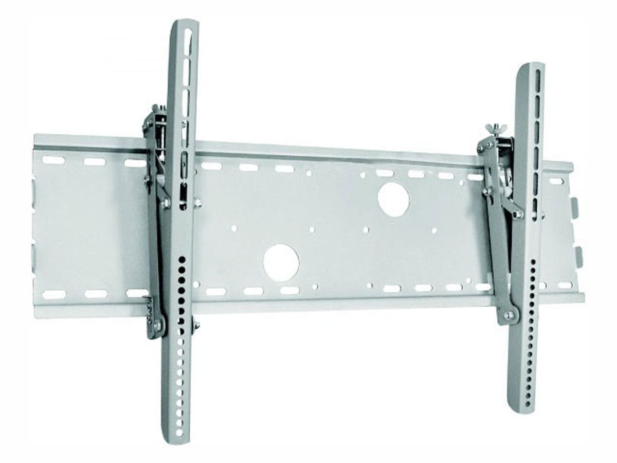 Monoprice Titan Series Tilt TV Wall Mount Bracket, For TVs 30in to 63in, Max Weight 165 lbs, VESA Patterns Up to 750x450, Works with Concrete & Brick, UL Certified-Large-Image-1