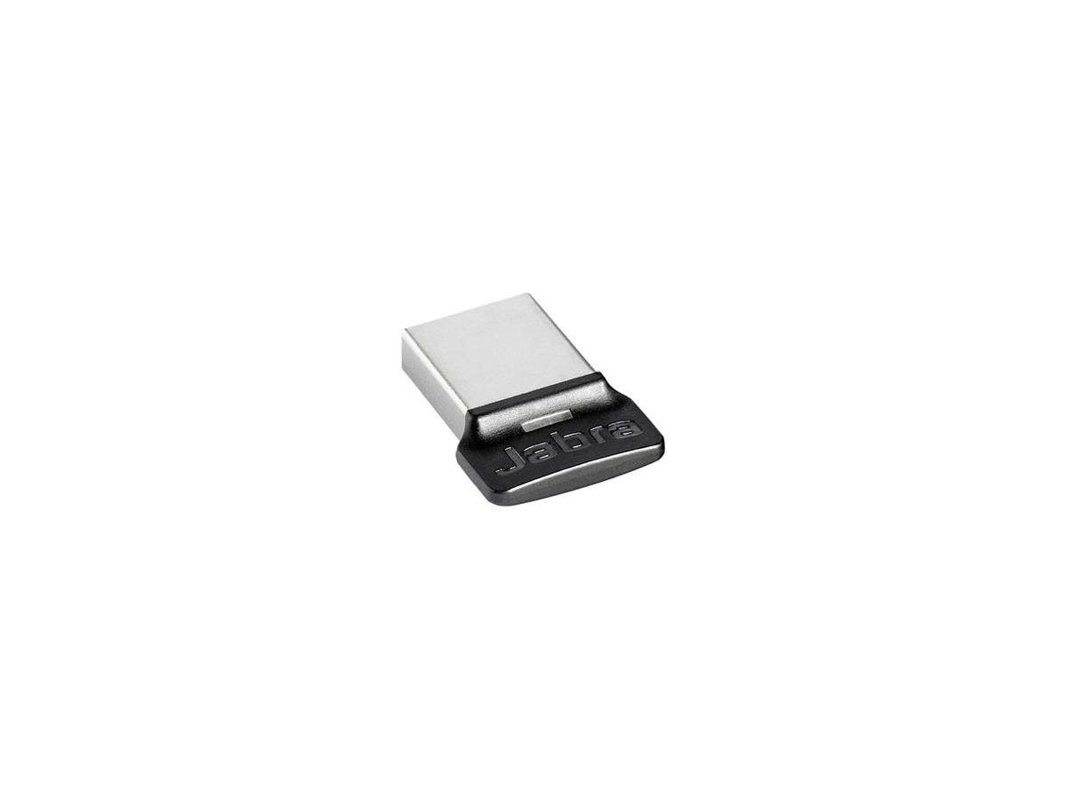 Jabra LINK 360 Bluetooth 3.0 - Bluetooth Adapter for Desktop Computer - USB - 24 Mbit/s - 2.40 GHz ISM - 328.1 ft Indoor Range - External-Large-Image-1