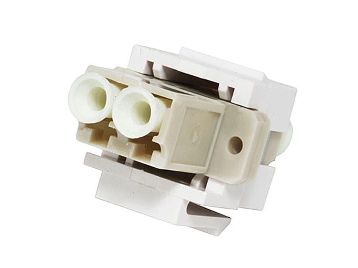 Monoprice Keystone Jack - Modular LC (White)-Large-Image-1
