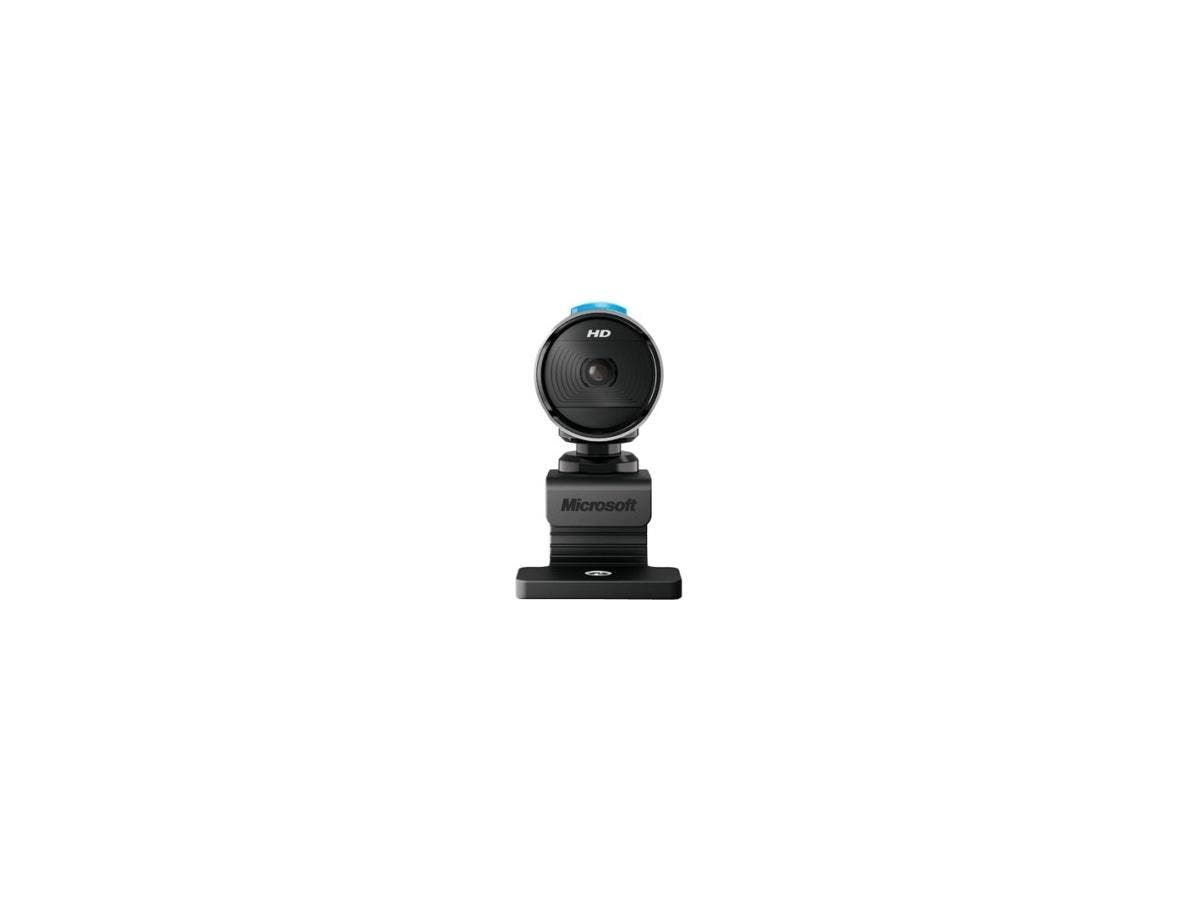 Microsoft LifeCam 5WH-00002 Webcam - USB 2.0 - CMOS Sensor-Large-Image-1