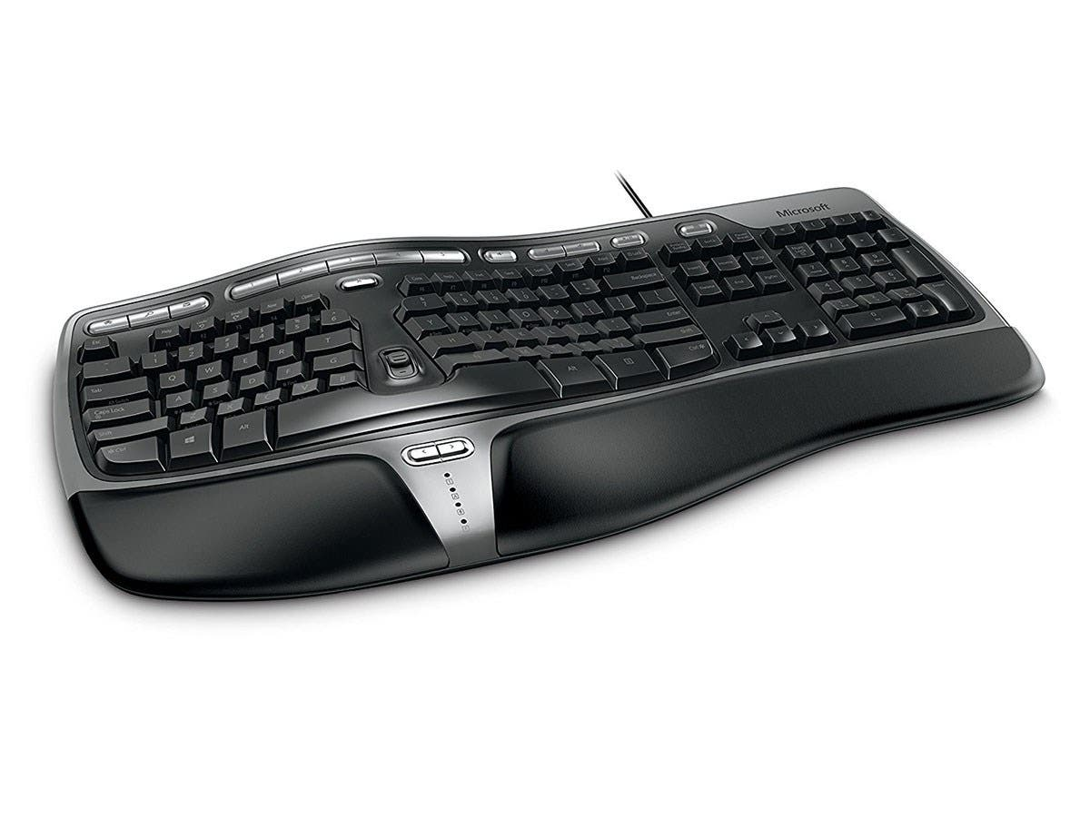 Microsoft Natural Ergonomic Keyboard 4000 - USB-Large-Image-1