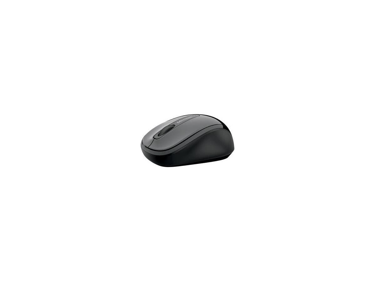 Microsoft 3500 Mouse - BlueTrack - Wireless - Radio Frequency - Lochness Gray - USB 2.0 - 1000 dpi - Scroll Wheel - 3 Button(s) - Symmetrical-Large-Image-1