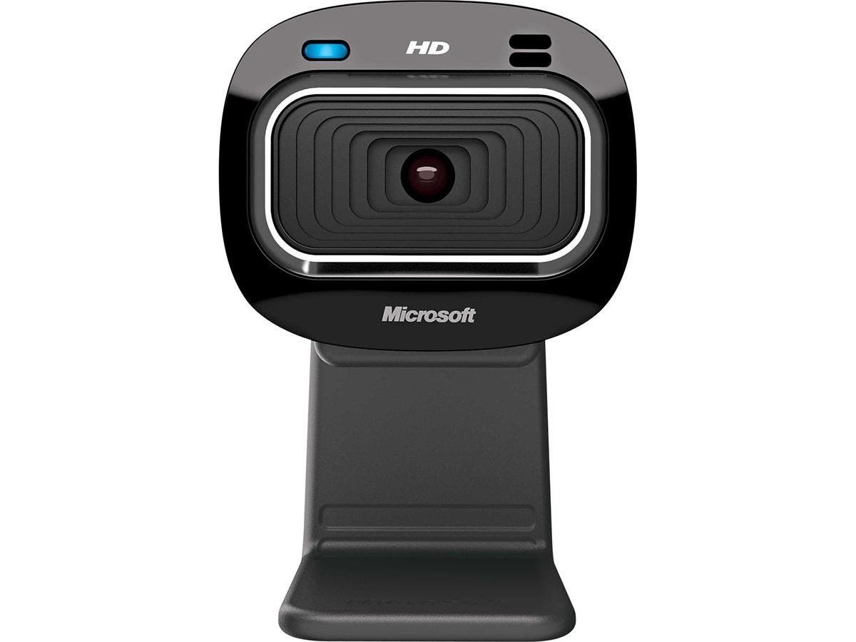 Microsoft LifeCam HD-3000 Webcam - 30 fps - USB 2.0 - 1280 x 720 Video - CMOS Sensor - Fixed Focus - Widescreen - Microphone-Large-Image-1