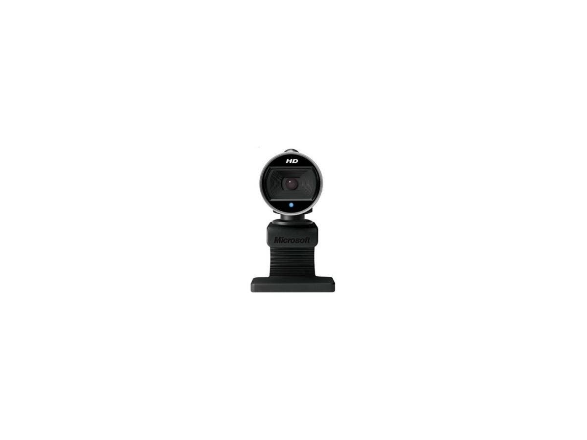Microsoft LifeCam 6CH-00001 Webcam - 30 fps - USB 2.0 - 1280 x 720 Video - CMOS Sensor-Large-Image-1