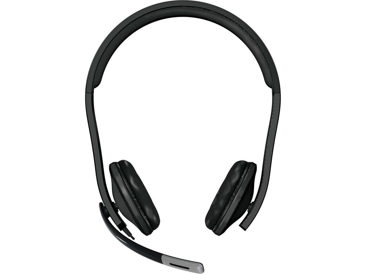 Microsoft LifeChat LX-6000 Headset - Stereo - USB - Wired - Over-the-head - Binaural - Ear-cup - Noise Cancelling Microphone