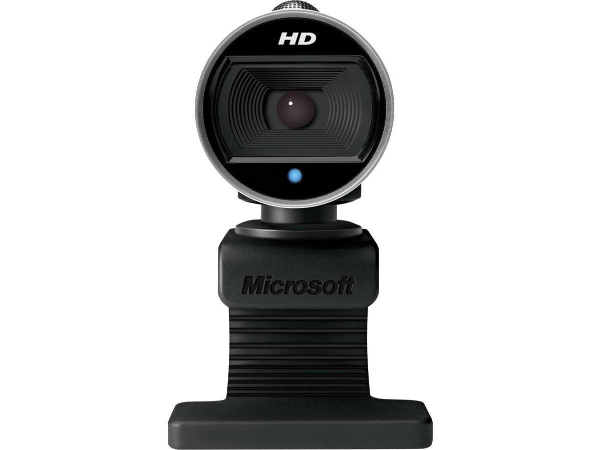 Microsoft LifeCam Webcam - 30 fps - USB 2.0 - 5 Megapixel Interpolated - 1280 x 720 Video - CMOS Sensor - Auto-focus - Widescreen - Microphone-Large-Image-1