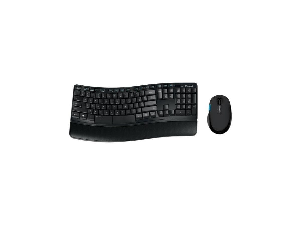 Microsoft Sculpt Comfort Desktop - USB Wireless RF Keyboard - 104