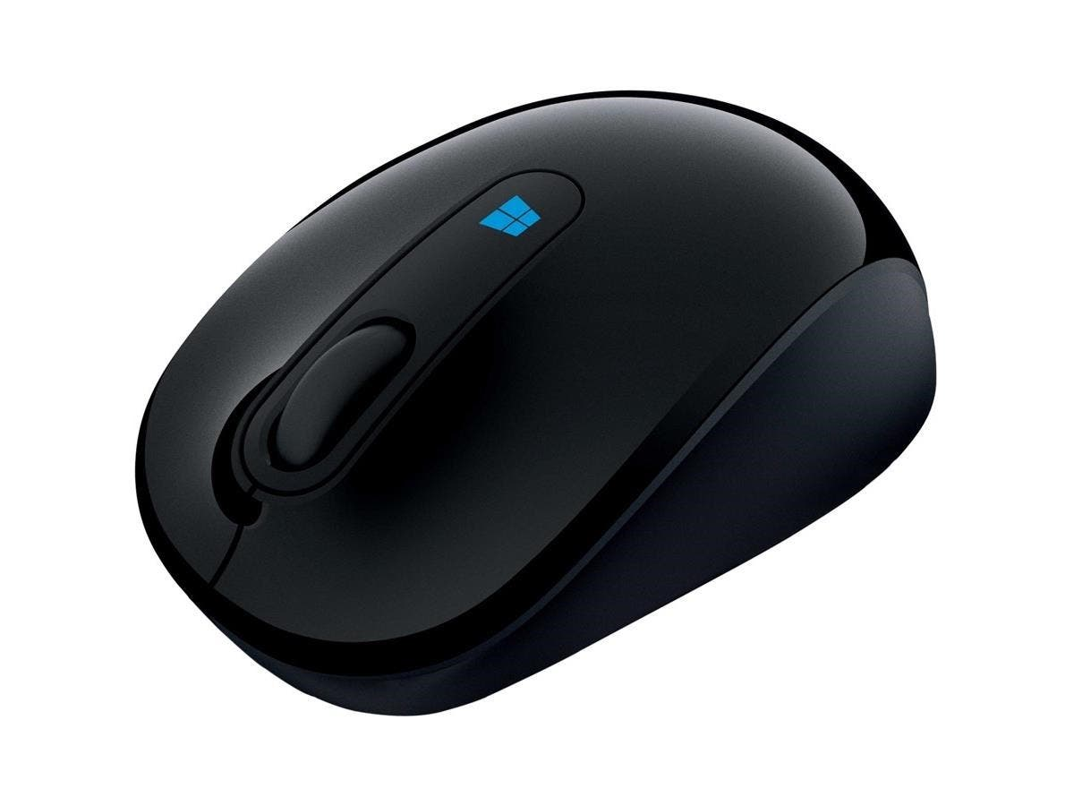 Microsoft Sculpt Mobile Mouse - BlueTrack - Wireless - Radio Frequency - Wool Blue - USB 2.0 - 1000 dpi - Tilt Wheel - 3 Button(s) - Symmetrical